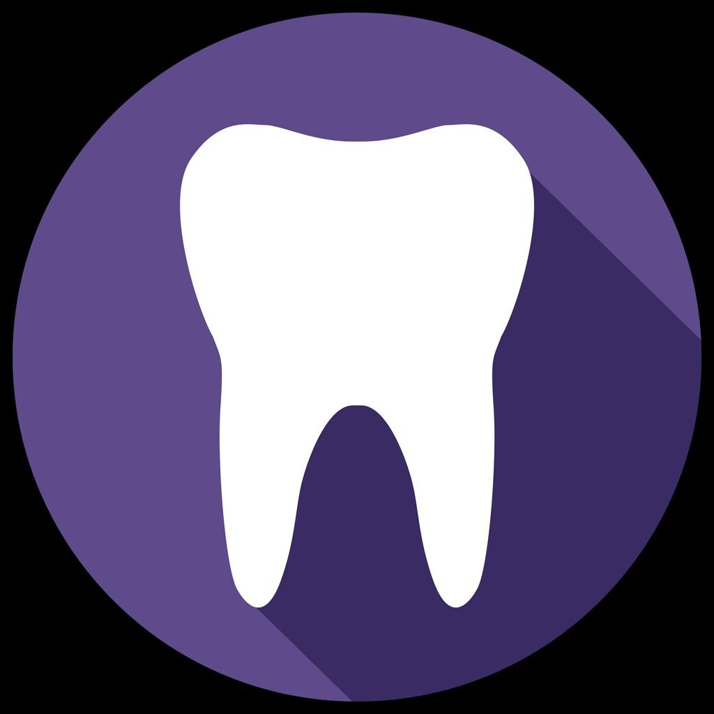 PayDent Tooth Black Background